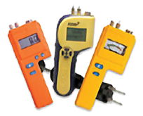 Pin style wood moisture metres for the wood industry